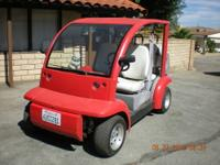 2002 Ford Think Golf cart this cart is licensed and can