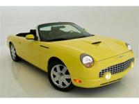 2002 FORD THUNDERBIRD CONVERTIBLE PREMIUM EXOTIC
