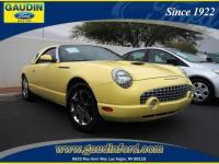 This 2002 FORD THUNDERBIRD CONV has received these