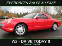 If you are in the market for a Ford Thunderbird Deluxe