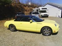 2002 Ford Thunderbird. Just 21k miles! Has the uncommon