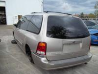 2002 Ford Windstar 3.8 Liter Engine  ALL BODY PARTS ARE