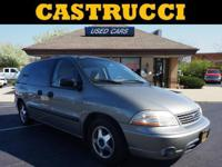 Silver 2002 Ford Windstar LX FWD 4-Speed Automatic with