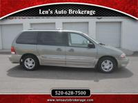 Options:  2002 Ford Windstar Super Low Mileage Ford