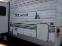 2002 Forest River Wildwood Travel Trailer Well