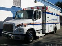 This 2002 Freightliner FL 60 Ambulance has the 5.9