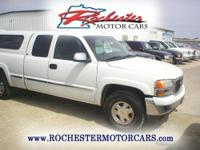 2002 GMC Sierra SLE, 4WD with 207,109 miles. This local