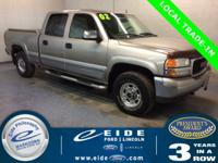 2002 GMC Sierra 1500HD Crew Cab SLE Highlighted with