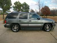2002 GMC Yukon, 2 wheel drive, McGaughys Suspension