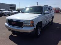 New Price! White 2002 GMC Yukon XL RWD 4-Speed