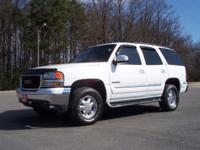 Options Included: 2002 GMC Yukon SLT 2WD. Local
