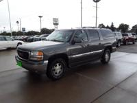 Storm Gray Metallic 2002 GMC Yukon XL SLT 1500 4WD