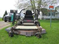 2002 GRASSHOPPER mower model 718 . mower is in GREAT
