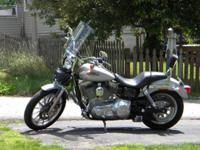 Up for keeps is a beautiful 2002 Harley Davidson Dyna