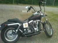 2002 Harley Davidson Dyna Glide Cruiser. This bike has