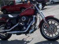 The Harley Dyna Super Glides sinister good looks and