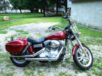 2006 Harley Davidson Dyna Super Glide ~ Fire Pearl Red