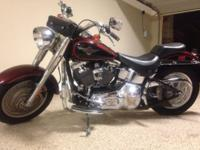 1450 cc , fuel injected , very low miles 6832 , garage