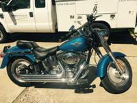 2002 Harley Davidson fatboy, fuel injected,new LED