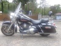 2002 Harley Davidson FLHPI Road King. This Harley is in