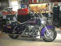 2002 Harley Davidson FLHR Road King. This touring cycle