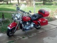 2002 Harley Davidson FLHR Road King Fire Fighter