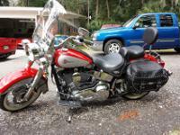 2002 Harley Davidson FLSTC Heritage Softail Classic