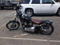 2002 Harley Davidson FLSTCI Heritage Softail Classic