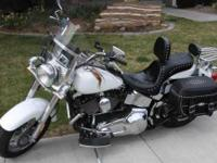 2002 Harley Davidson in Excellent Condition- - White