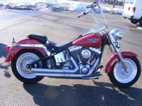 2002 Harley-Davidson FLSTF Fat Boy This bike has Vance