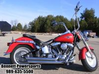 2002 Harley-Davidson FLSTF Fat Boy This bike has Vance