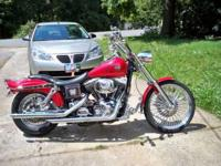 Description 2002 DYNA WIDE GLide with 10,000 pampered