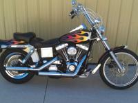 2002 Harley Davidson FXDWG Dyna Wide Glide. Runs &