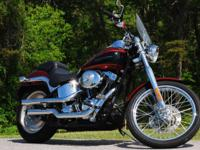 Description Make: Harley Davidson Model: FXSTD Mileage: