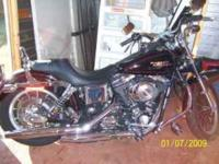 Description 2002 harley Low Rider with less than 6,500