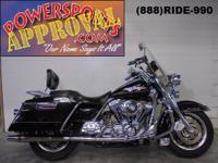 2002 Harley Davidson Road King with tons of chrome for