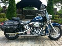 2002 Harley Davidson Softail Heritage Classic Fuel