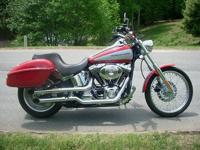 Harley-Davidson Deuce FXSTDI with only 14,664 miles.