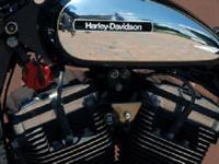 CUSTOM BUILT HARLEY-DAVIDSON SPORTSTER MOTORCYCLE.ONE