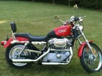 2002 Harley Davidson Sportster xl883custom -first $3900