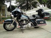 2002 Harley Davidson Ultra Classis touring bike with a
