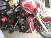 2002 Harley Davidson Ultra Classic ( As-Is for Repair