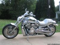 2002 Harley V-Rod. Totally custom and one of a kind.