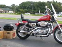 This 2002 XL1200 would be a great cruiser for the
