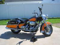 2002 Harley Davidson Road King. Asking $10,500. In