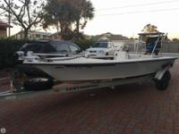 This 2002 Hewes 18 Bone fisher is a flats fisherman's