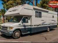 This Class C Recreational Vehicle offers design and