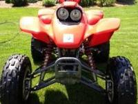 2002 Honda 400EX. Adult owned. Well maintained. Low