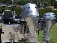 Honda 75 hp extra long shaft outboard motor with