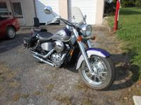 Beautiful 2002 Honda 750 ACE for sale. Extras include,